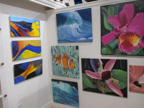 Featured Artist At Harbour View Gallery, Sept. 2015